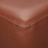 Chocolate Faux Leather