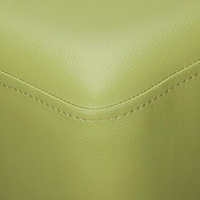 Lime Green Faux Leather